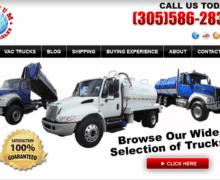 Vacuum Truck Sales